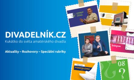 Projekt Divadelník.cz - Kukátko do světa amatérského divadla